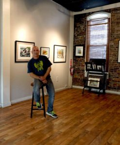 Mike in Gallery add 2