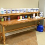 Silk Screen Ink Station